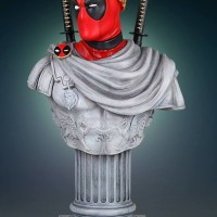 Gentle Giant Deadpool Caesar Classic Bust Up for Order!