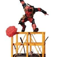 Super Deadpool ARTFX+ Kotobukiya Statue Revealed!