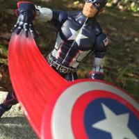 Marvel Legends Secret War Captain America Review & Photos 2016