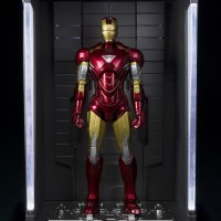 SH Figuarts Iron Man Hall of Armor & Mark 6 Figures Photos & Info!
