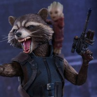 Hot Toys Rocket Raccoon Deluxe & Baby Groot Up for Order!
