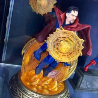 Toy Fair 2017: DST Doctor Strange & Civil War Movie Statues!