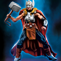 Toy Fair: Marvel Legends Lady Thor & A-Force Figures Revealed!