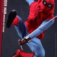 Hot Toys Spider-Man Homecoming Homemade Suit Figure Pre-Order!