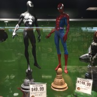 GameStop Exclusive Marvel Gallery Symbiote Spider-Man Statue!