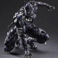 Play Arts Kai Black Panther Figure Photos & Up for Order!