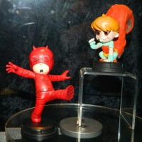 SDCC 2017 Gentle Giant Marvel Animated Daredevil & Squirrel Girl!