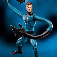 Exclusive Marvel Legends Mr. Fantastic & Medusa Figures! SDCC 2017