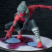 NYCC 2017 Exclusive Kotobukiya Winter Gear Spider-Man ARTFX+!