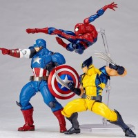 Revoltech Captain America Figure Pre-Order & Official Photos!