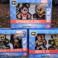 REVIEW: Pixel Pals Marvel vs. Capcom Infinite Figures!