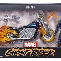 2018 Marvel Legends Ghost Rider & Motorcycle Packaged Photo!