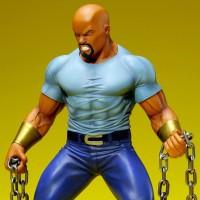 Kotobukiya Luke Cage ARTFX+ Defenders Statue Photos & Pre-Order!
