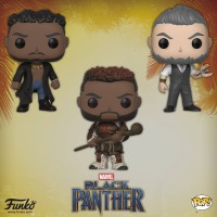 Funko Black Panther POP Vinyls Wave 2! M'Baku! Klaue!