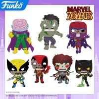 Toy Fair 2020: Funko POP Marvel Zombies Figures & Exclusives Revealed!