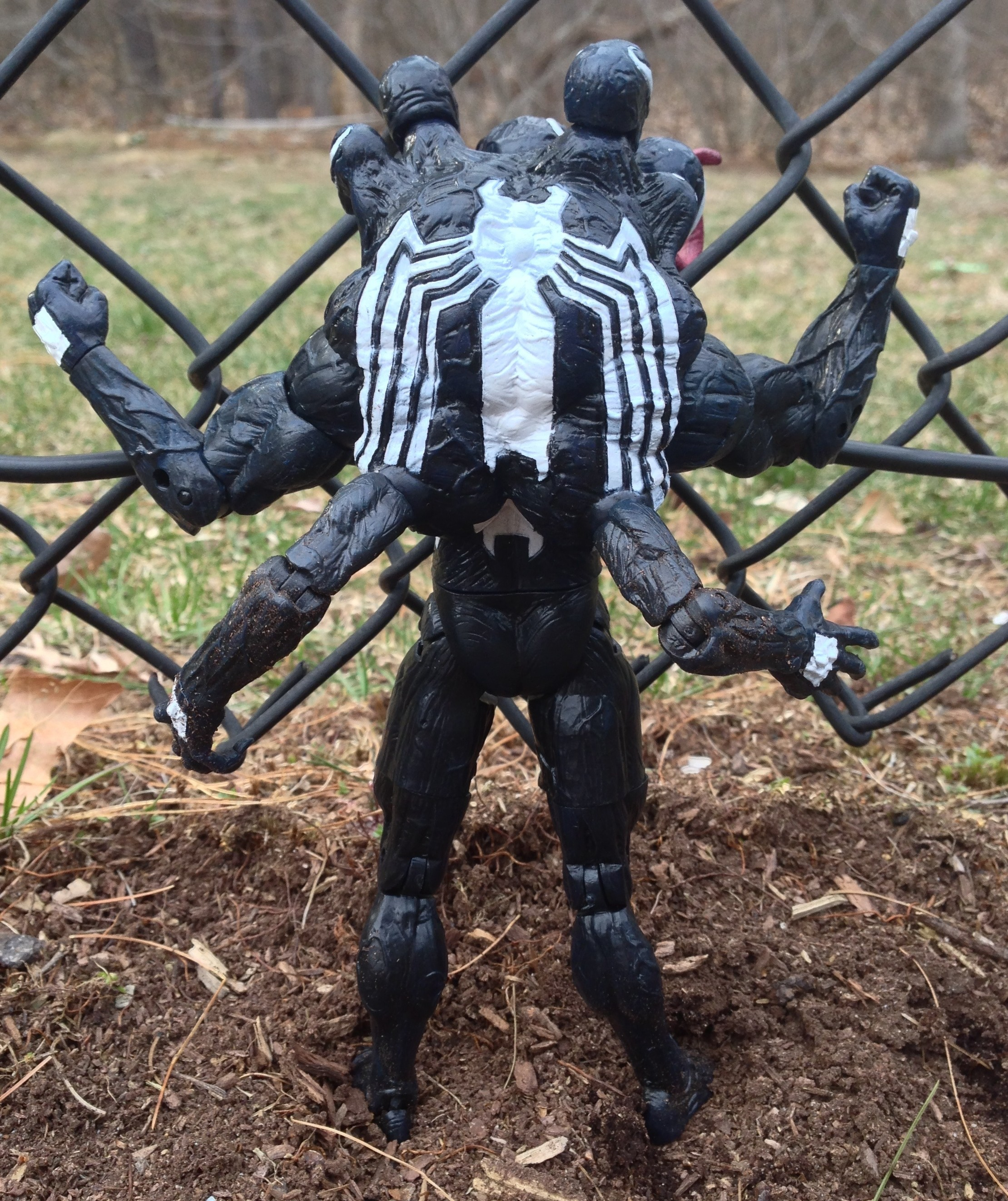 Venom The Madness Marvel Select Figure Back