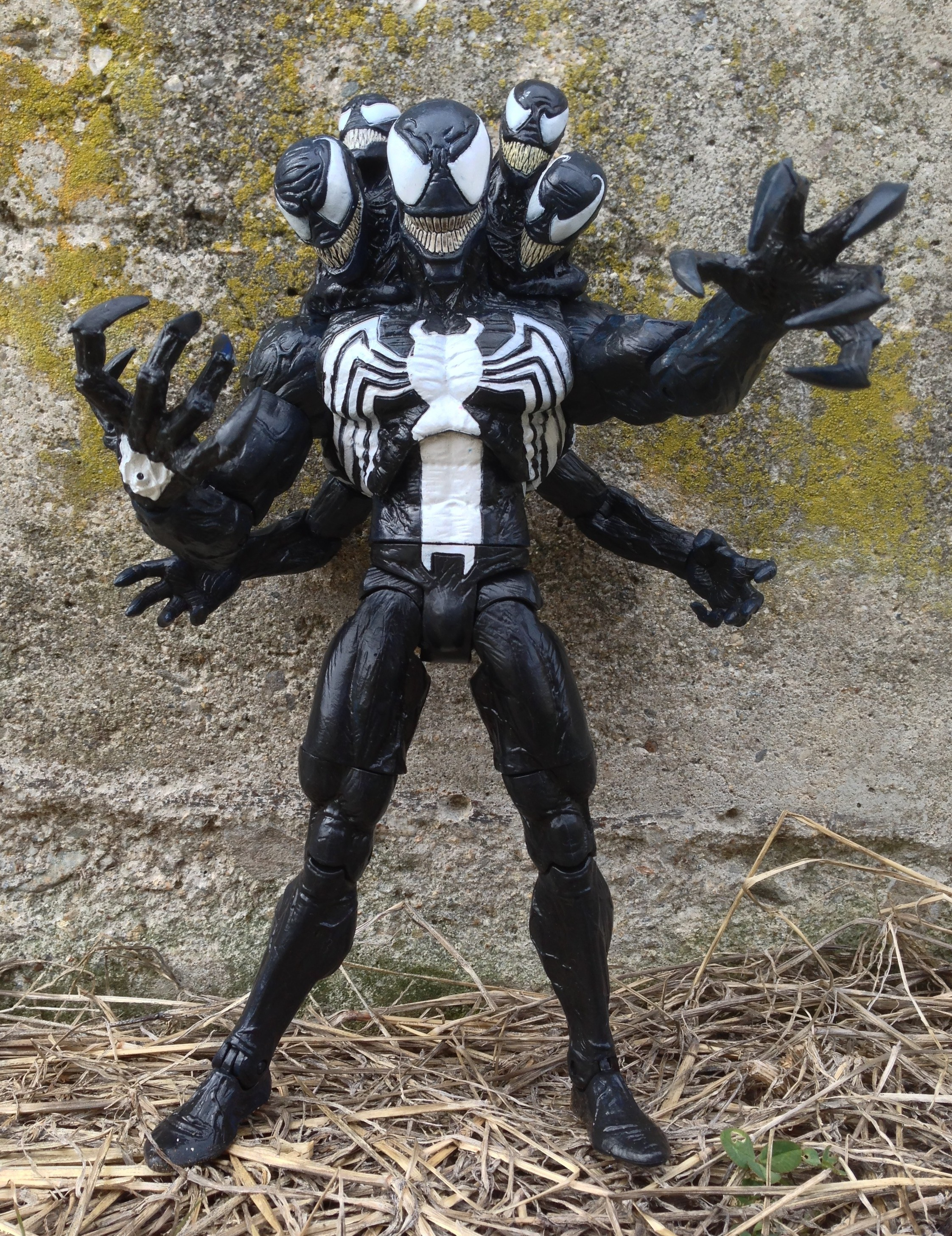 Venom Madness Figure Marvel Select 2013 Action Figure Multiple Heads