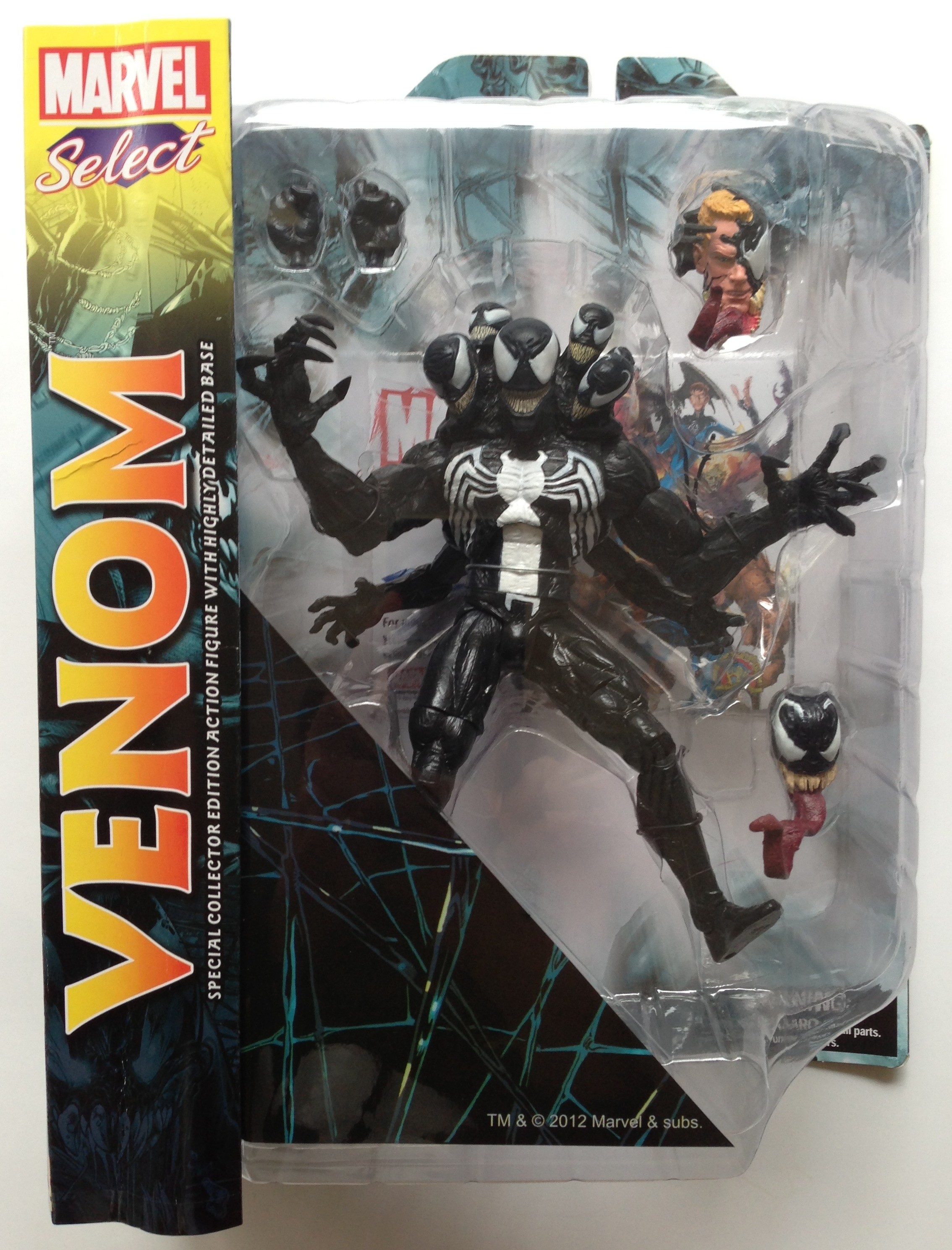 Marvel Select Venom Packaged Figure 2013