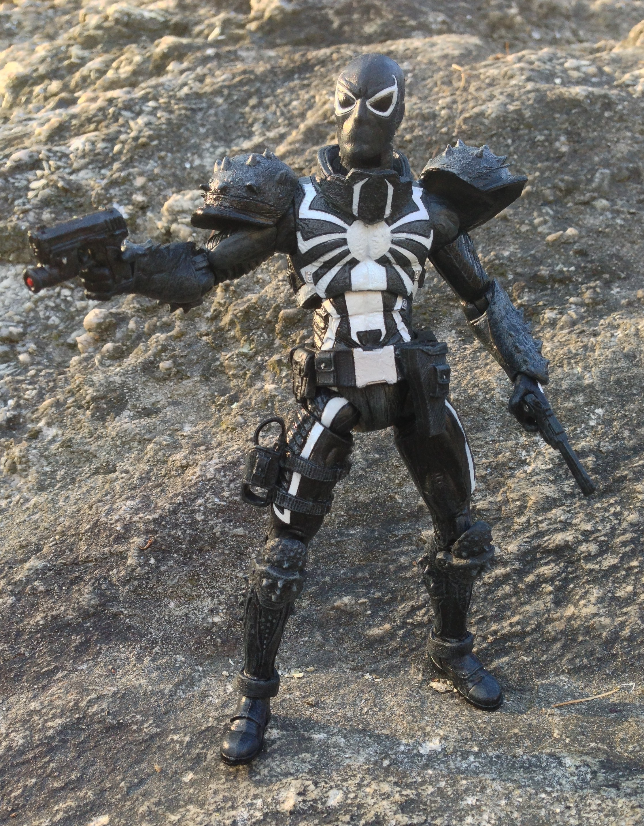 Flash Thompson Venom Action Figure Marvel Select 2012