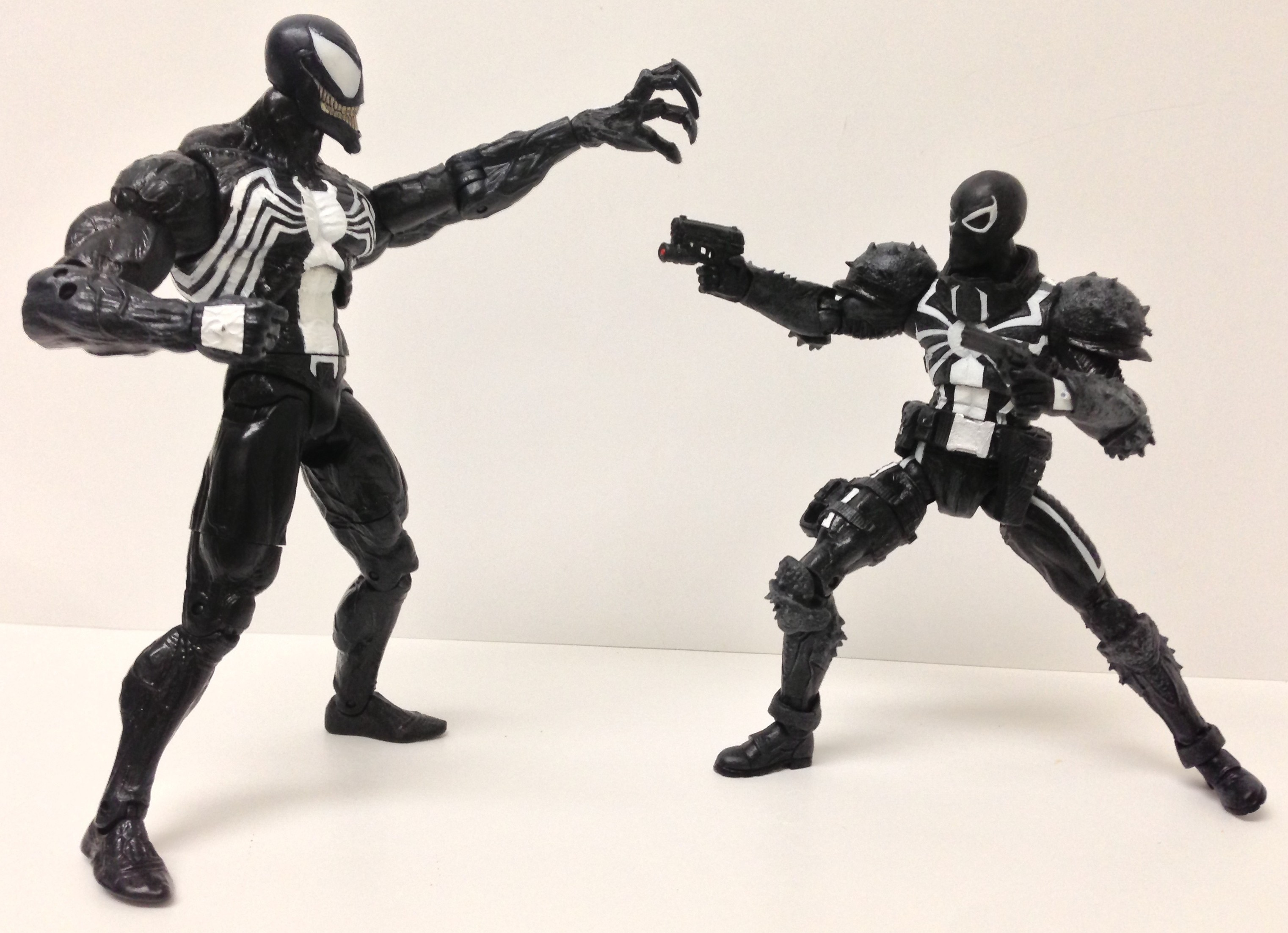 Marvel Select Venom vs. Modern Venom Action Figures