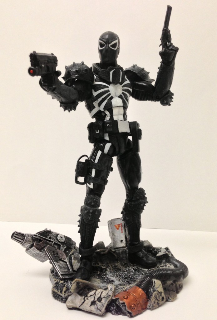 Marvel Select Flash Thompson Venom on Base