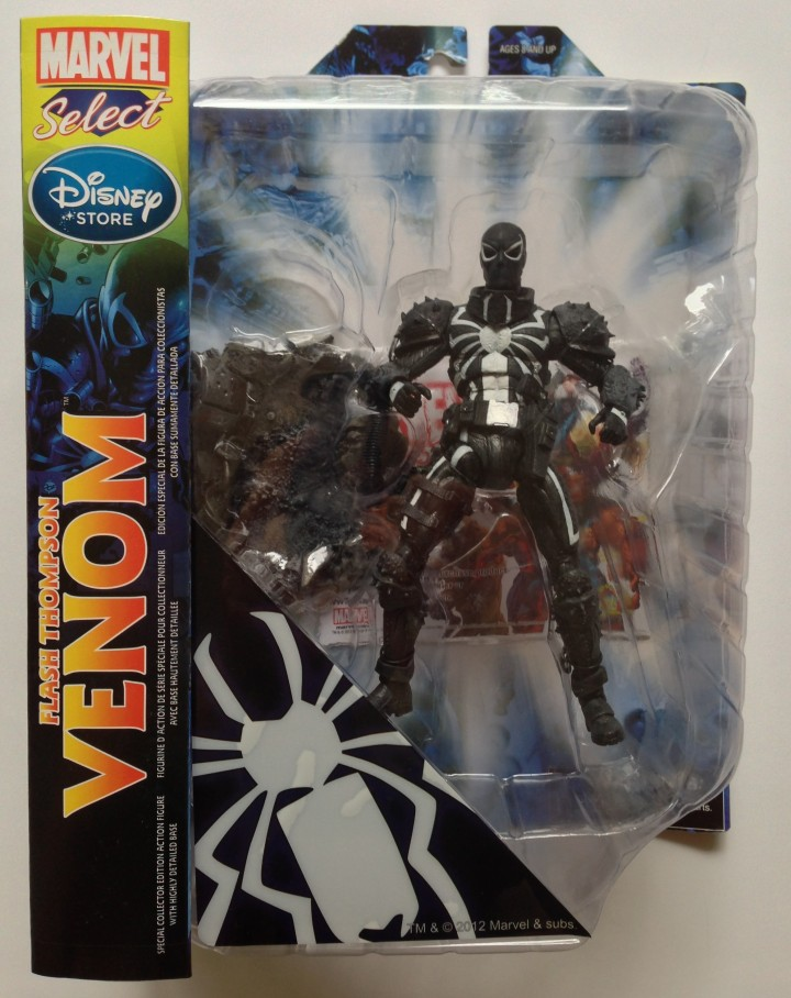 Marvel Select Flash Thompson Venom Figure Carded