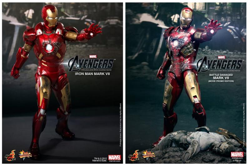 Iron Man Mark 7 Hot Toys Hot Toys Iron Man Mark VII and