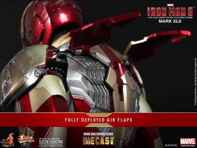 Hot Toys Iron Man Mk 42 Armor Deployable Air Flaps