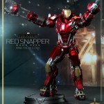 Iron Man 3 Hot Toys Red Snapper Power Pose Series Figure Revealed!