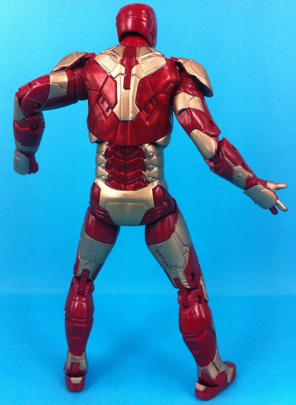 Iron Man 3 Mark 42 Armor Marvel Legends Back 2013