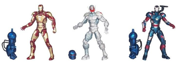 Iron Man 3 Marvel Legends Series 2 Figures Ultron Iron Patriot Iron Man Mark XLII
