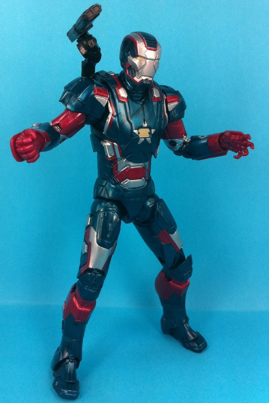 Marvel Legends Iron Man 3 Series 2 Iron Patriot Movie Figure