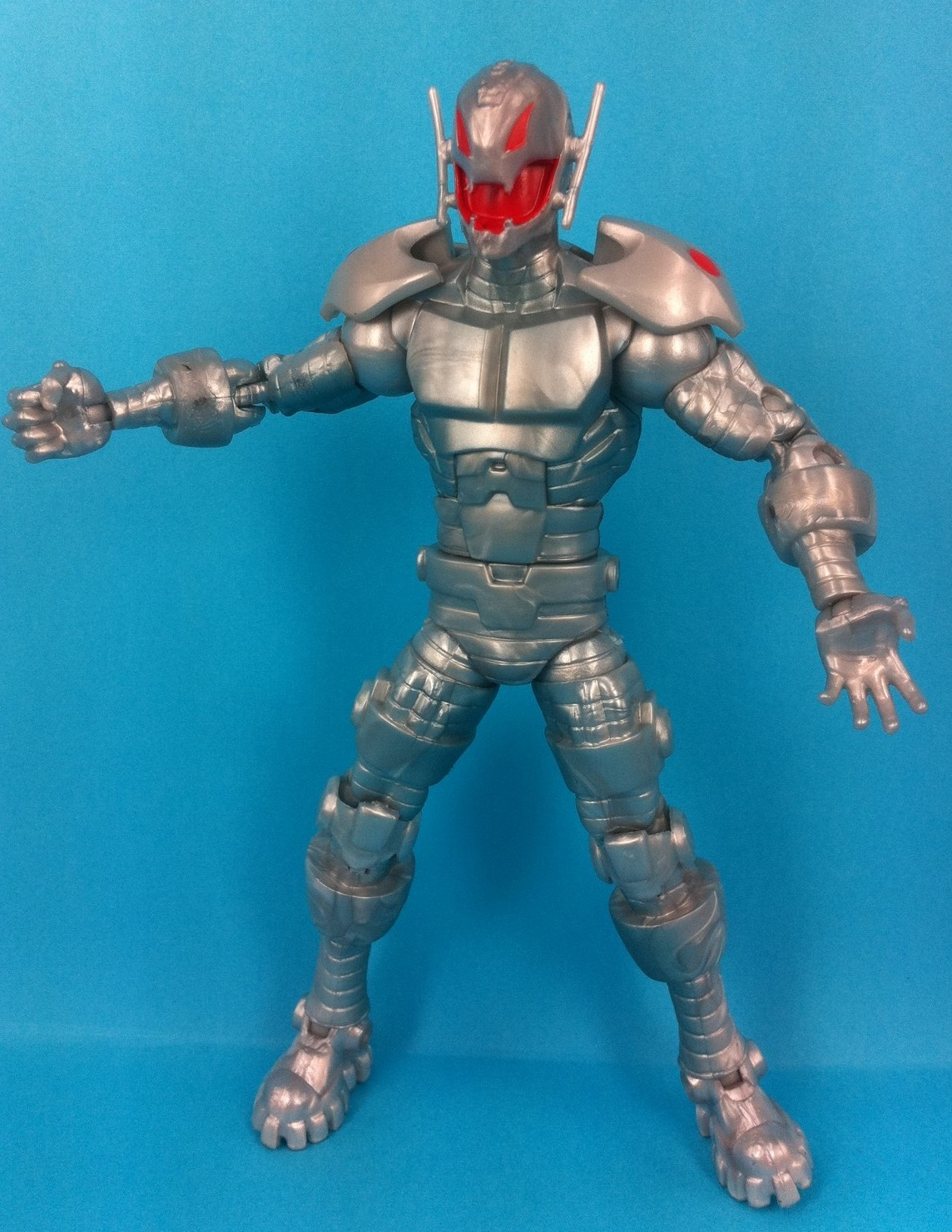 Marvel Legends Iron Man 3 Ultron Figure In-Hand Pics