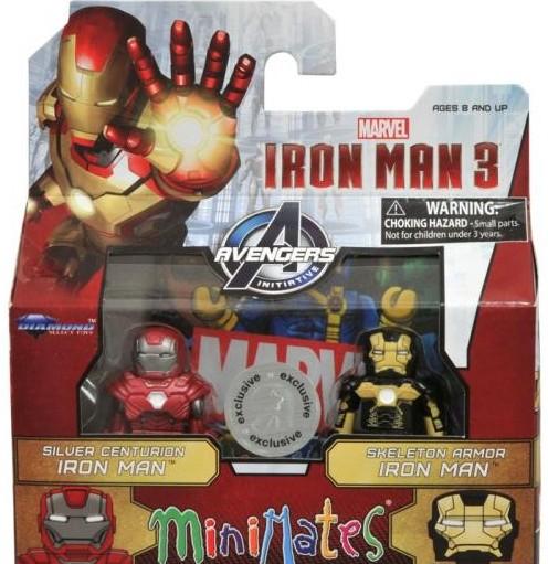 Iron Man 3 Toys ~ Iron man minimates figures released in stores marvel