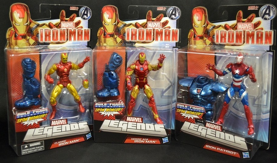 Packaged Marvel Legends Iron Man Series 1 Set