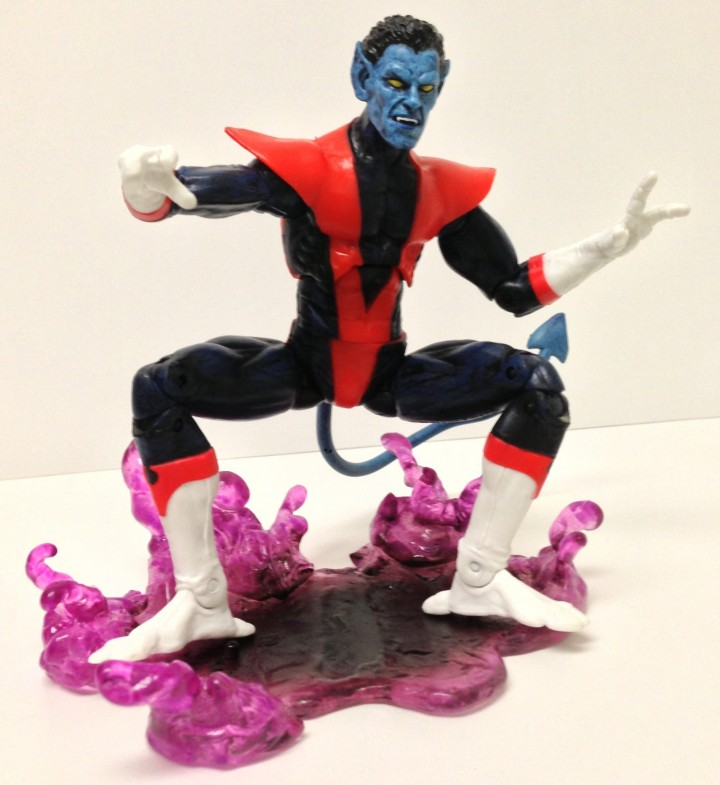 No Ankle Rockers on Nightcrawler Marvel Select Action Figure