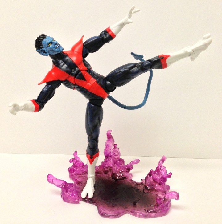 Articulation on Marvel Select Nightcrawler Figure by Diamond Select Toys