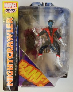 Marvel Select Nightcrawler Figure Packaged 2013