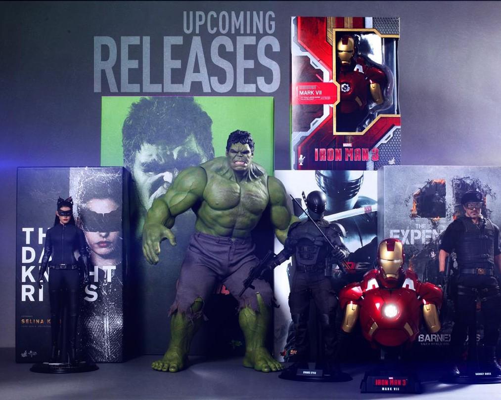 Hulk 2013 Avengers Avengers Hot Toys Hulk Figure