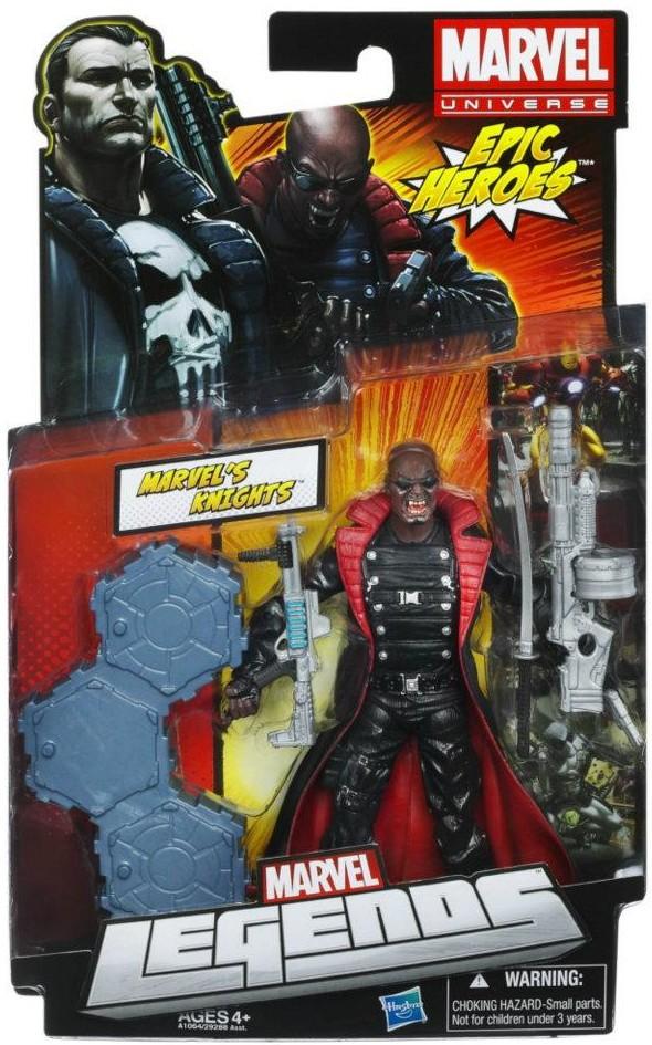 Marvel legends blade marvel knights variant action figure packaged