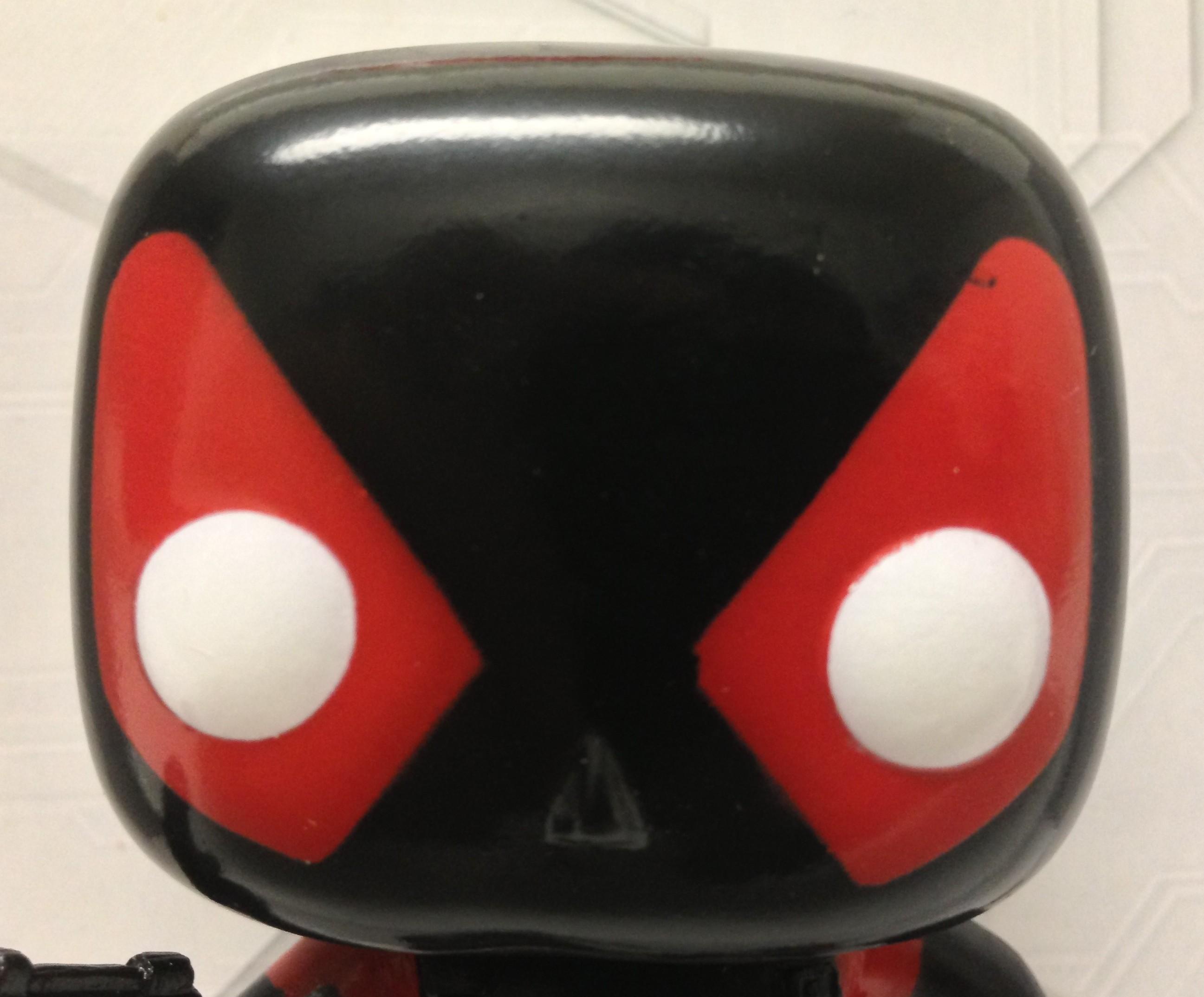 Funko Deadpool Inverse Vinyl Head Close-Up