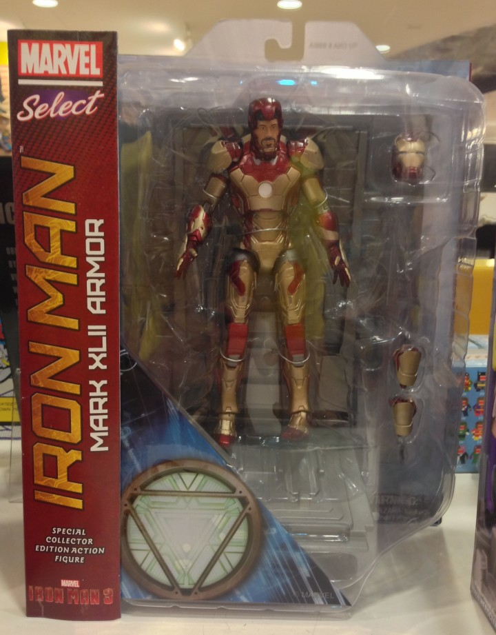 iron man 3 marvel select iron man mark 42 action figure