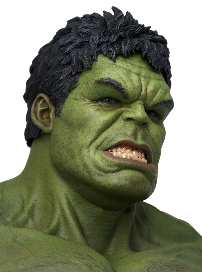 Avengers Hot Toys Hulk Head Sculpt Close-Up