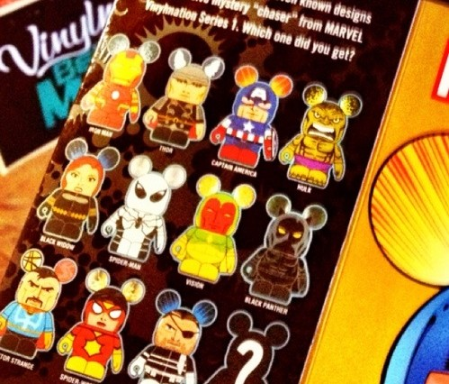 Disney Vinylmation Marvel Series 1 Blind Box Figure Assortment