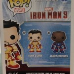 SDCC 2013 Exclusive Funko POP! Iron Patriot Unmasked James Rhodes