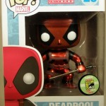Metallic Deadpool Funko POP Marvel SDCC 2013 Exclusive Revealed!