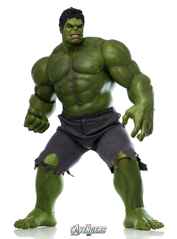 Hot Toys Avengers Hulk Figure Movie Masterpiece Series