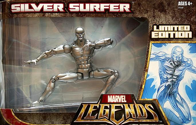 Marvel Legends Silver Surfer Hasbro 6 Figure from 2007