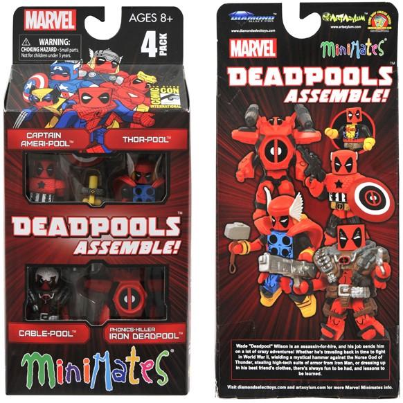 Minimates Deadpool Review Marvel Minimates Deadpools