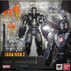 S.H. Figuarts War Machine Figure Bandai 2013 Iron Man 2